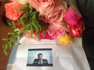 Periodista que lidera iniciativa de demanda contra el presidente recibe amenaza de muerte