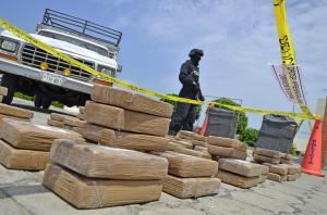 Destruyen 500 kilos de droga incautada