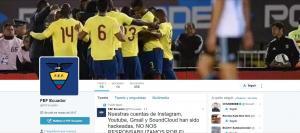 Anonymous Ecuador hackea cuentas de redes sociales de la FEF