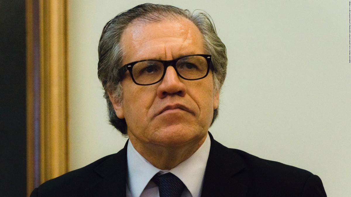 Almagro tacha de 'autogolpe de Estado' la decisión del Supremo en Venezuela