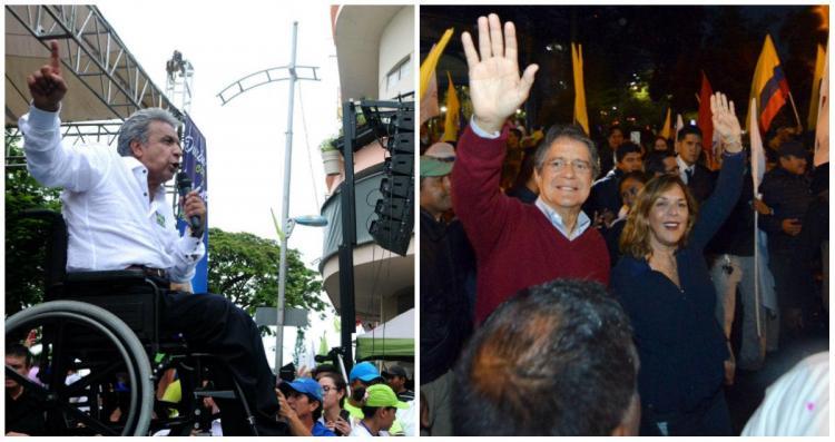 Los ecuatorianos eligen este domingo a su nuevo presidente
