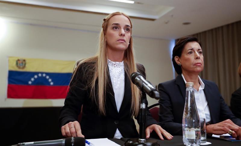 Tintori denuncia que la democracia en Venezuela 'está eliminada' por Maduro