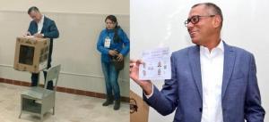Páez y Glas ya votaron y piden a los ciudadanos hacerlo 'en paz'