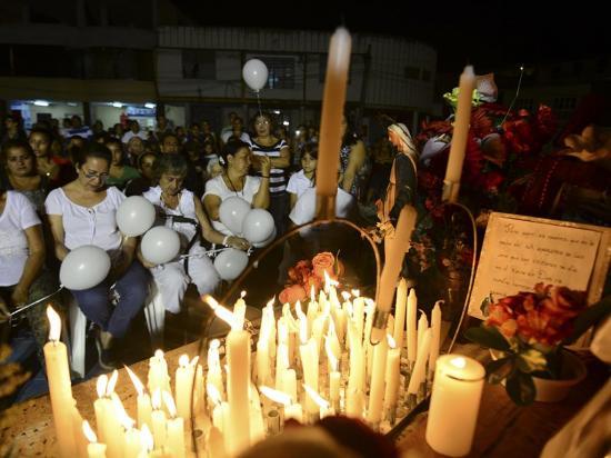 Misa solemne por las victimas del 16A