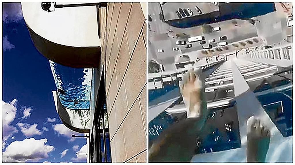 Piscina a 150 metros de altura el diario ecuador for Piscinas en altura