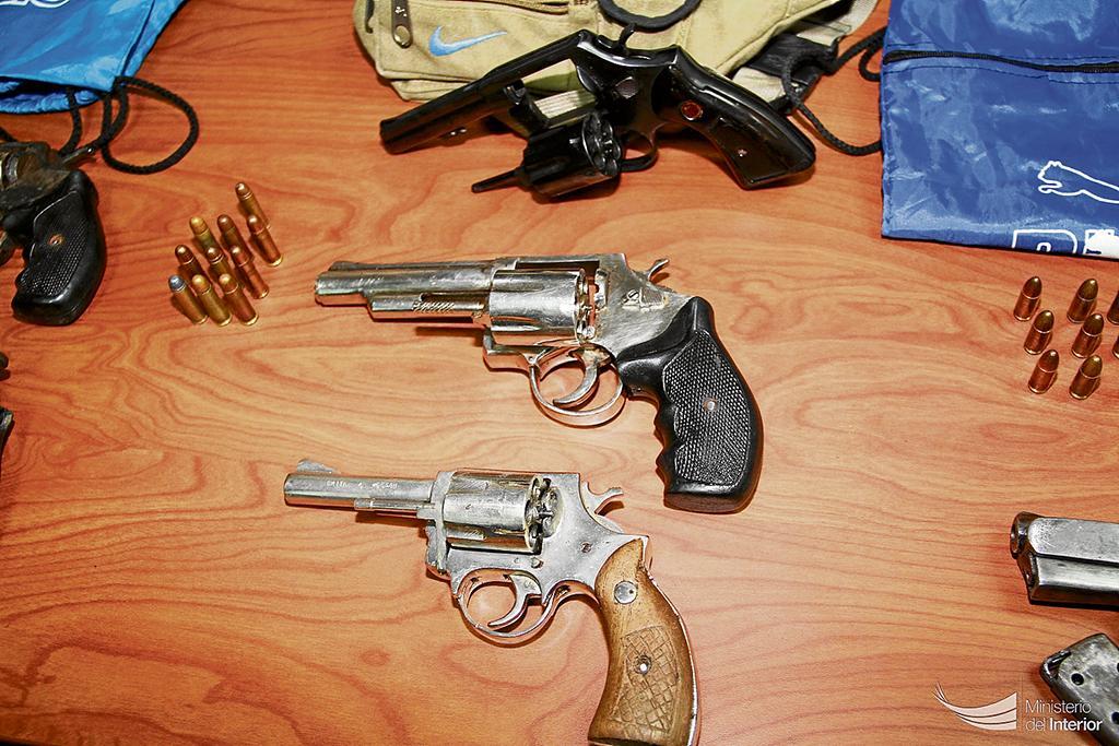 Retiran 130 armas de fuego de las calles el diario ecuador for Interior y policia consulta de arma