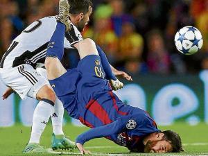 Barça y Messi se estrellan