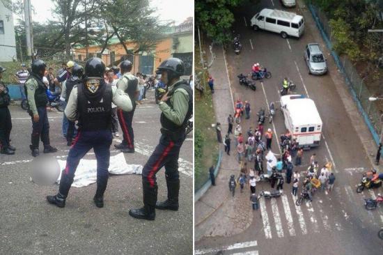Siguen las protestas en Venezuela tras jornada que dejó tres muertos