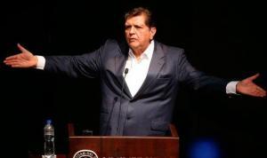 Alan García reitera inocencia tras aparecer su sigla en una nota de Odebrecht