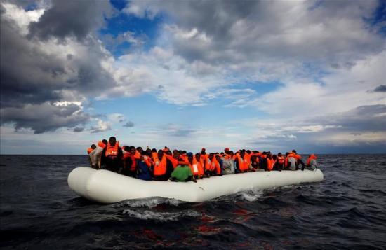 43.000 migrantes han cruzado el Mediterráneo este 2017