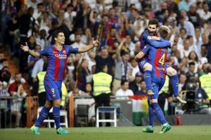 Messi resolvió el clásico, Barcelona venció 3-2 al Real Madrid