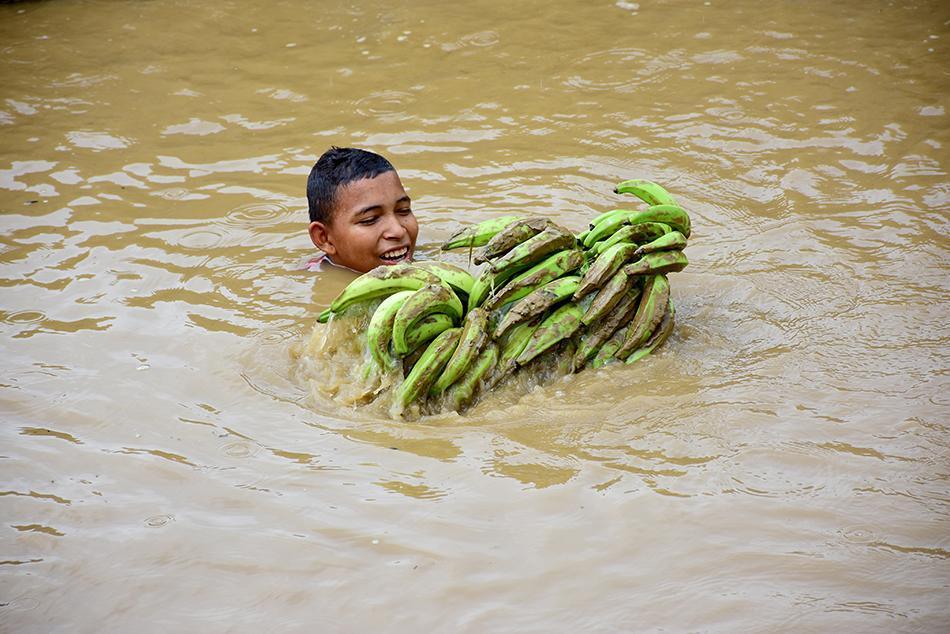 Zonas de Portoviejo han sido afectadas por deslizamientos, inundaciones y colapsos de viviendas