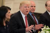 Trump quiere que un estadounidense pise Marte durante su primer mandato