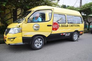 Transportistas escolares también empiezan su año lectivo