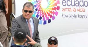 Rafael Correa tiene una apretada agenda en su último mes como presidente