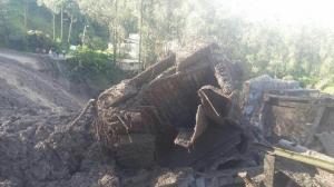 Al menos cuatro fallecidos por deslizamiento en Chunchi, Chimborazo