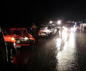 Tres heridos en la vía a Alóag