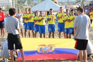 Ecuador debuta mañana en el Mundial de Fútbol playa