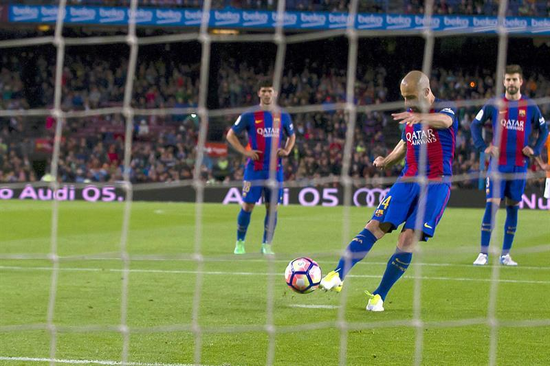 Mascherano anota su primer gol con el FC Barcelona tras 319 partidos