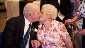 Una pareja fallece el mismo día, después de 77 años de matrimonio