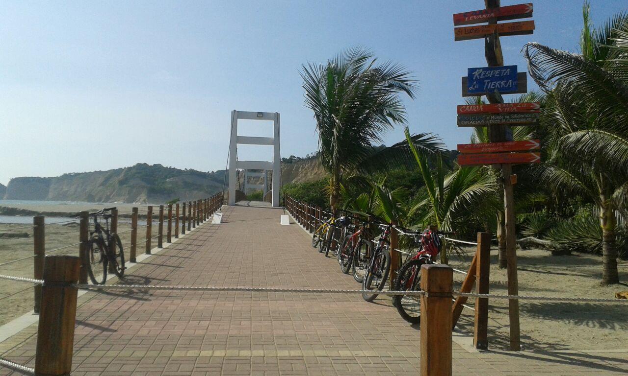 Inauguran obra turística 'Senderos y Estares' en Canoa