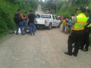 Asesinan a comerciante de un disparo, en El Carmen
