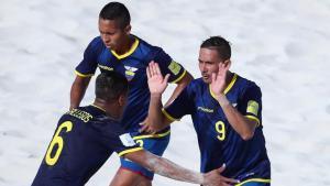 Ecuador suma su segunda derrota en el Mundial de Fútbol Playa