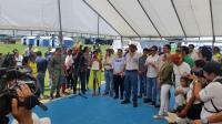 Vicepresidente Jorge Glas cumple con recorrido en cantones manabitas