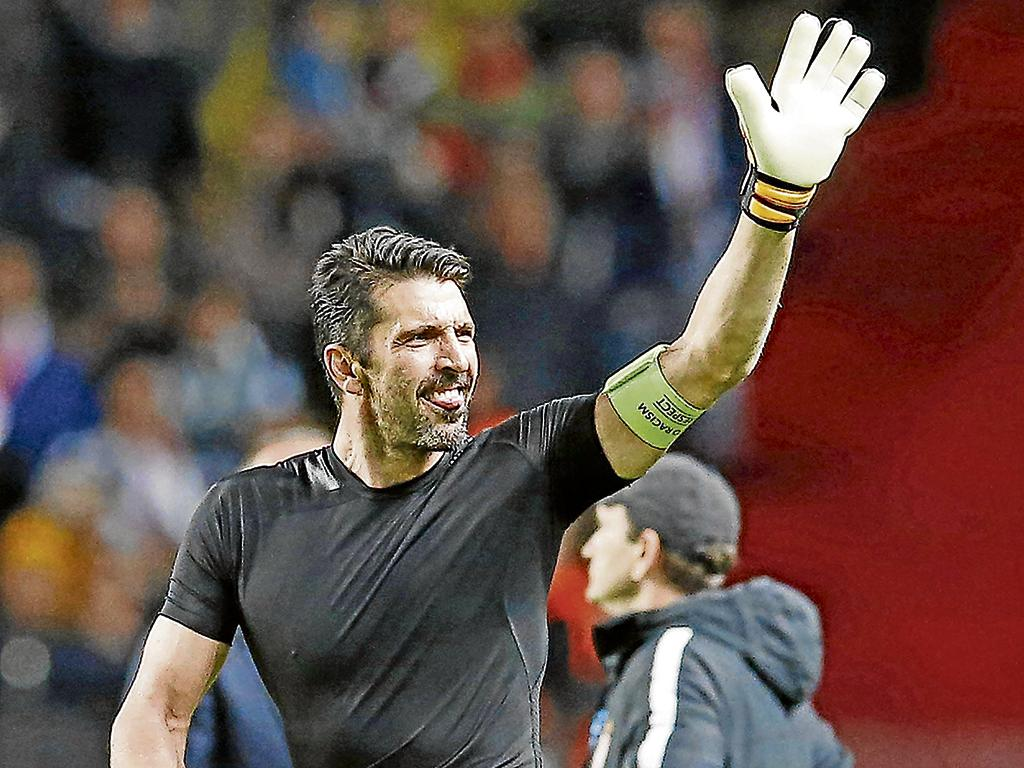 Buffon va por la final