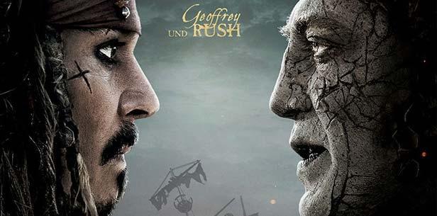 Depp y Javier Bardem: Duelo cara a cara en la quinta entrega de Piratas del Caribe