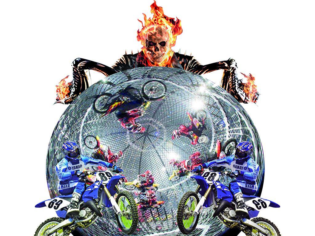 Lleg el show del globo de la muerte el diario ecuador for Diario el show del espectaculo