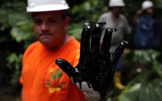 Ecuatorianos afectados contaminación petrolera preparan jornada anti-Chevron