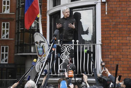 Assange: 'Es una victoria importante, pero la guerra acaba de comenzar'