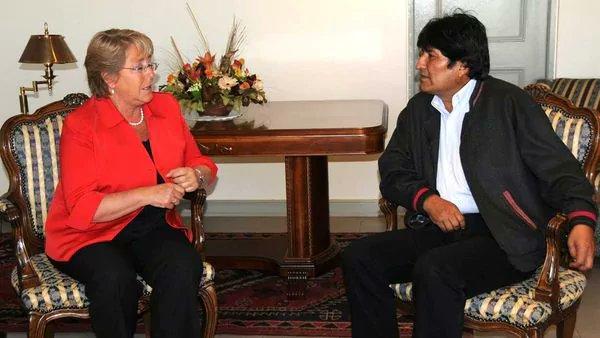 Evo Morales está abierto a dialogar con Michelle Bachelet en Ecuador