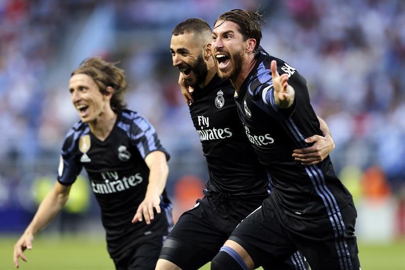 El Real Madrid conquista La Rosaleda y su trigésima tercera Liga
