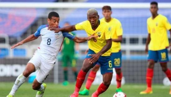 Ecuador debutó en el Mundial Sub-20 con un empate ante Estados Unidos