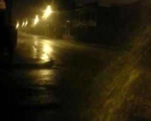 Más de cuatro horas de lluvia afectó a varios sectores en Paján
