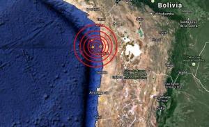 Sismo de magnitud 4,9 sacude región de Antofagasta, en el norte de Chile