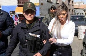La exnovia de Evo Morales es condenada a 10 años de cárcel por delitos económicos