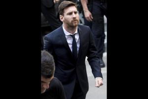 El Barcelona expresa su apoyo a Leo Messi y a su familia