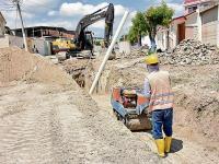 Obra acabará con los reboses de aguas servidas