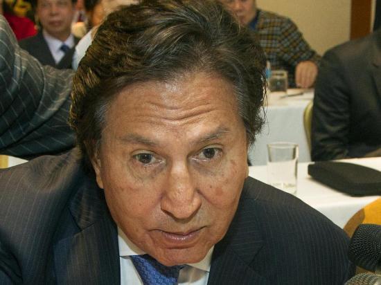 Toledo evade preguntas sobre el caso Odebrecht