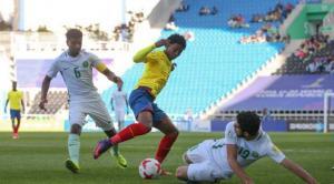 La Sub 20 de Ecuador perdió ante Arabia Saudita y tiene complicada la clasificación a octavos
