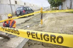 Ubicarán asfalto en Los Esteros