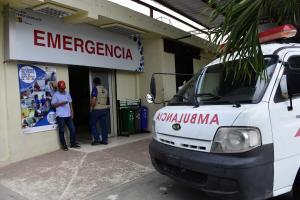 Motociclista en estado grave tras sufrir un accidente de tránsito, en Riochico