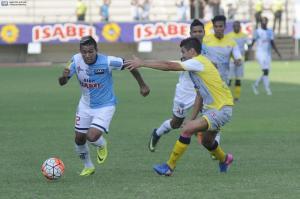 Con un solitario gol, el Manta vence a Colón en el Jocay