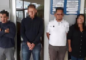 Cuatro colombianos detenidos en Cuenca por presunto delito de robo