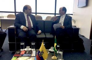 Ecuador acuerda con Brasil mecanismos de cooperación en caso Odebrecht