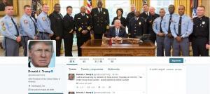 Donald Trump es el segundo líder más seguido en Twitter, por detrás del papa