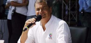 Expresidente Correa se pronuncia sobre el Caso Odebrecht